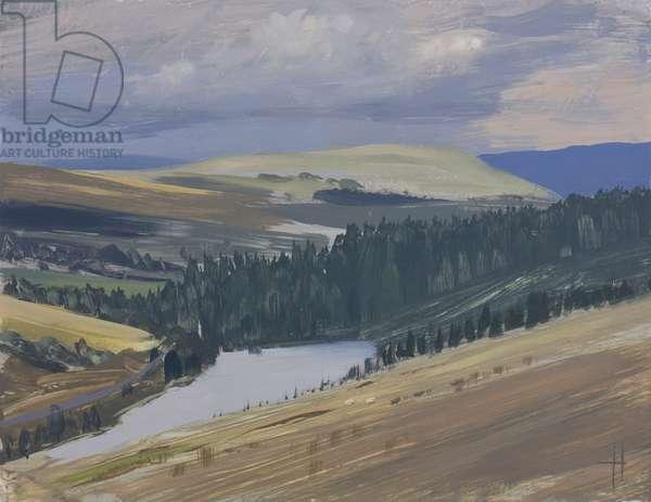 Llwyn-on Reservoir, October