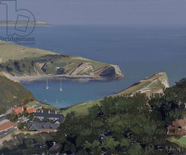 Lulworth Cove from Dungy Head, September