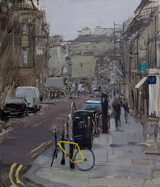 Misty day on Milsom St, Bath, March