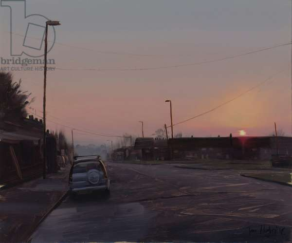 Last light, Lockleaze, November