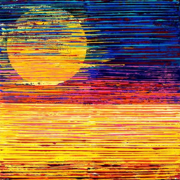 SUN OVERHEAD, 2019, (acrylic on canvas)