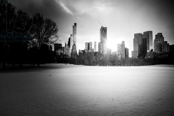 New York City Winter Skyline Nº1