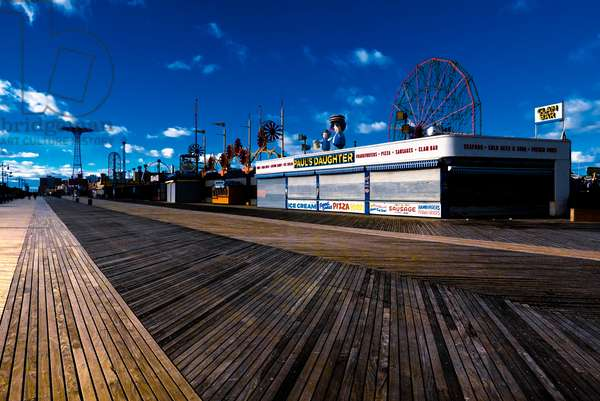 Lines in Coney Island