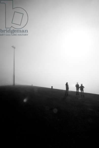 Tourists in the Fog
