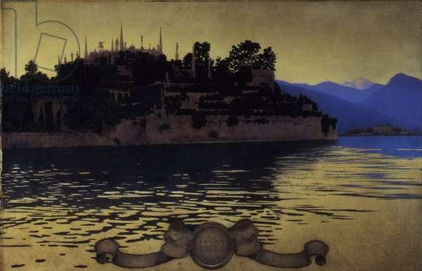 Villa Isola Bella, Lake Maggiore, 1904 (oil on paper mounted on board)