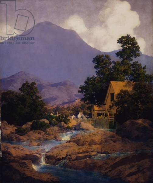 Thy Rocks and Rills, The Old Mill, 1942 (oil on masonite)