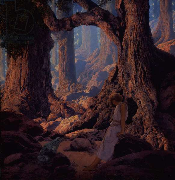The Enchanted Prince, 1934 (oil on board)
