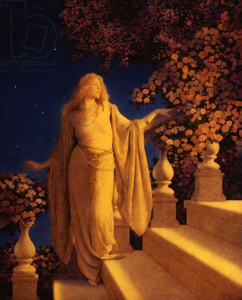 Cinderella, or Enchantment, 1913 (oil on panel)