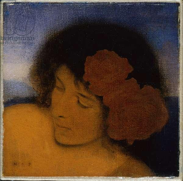 Head of Pandora, 1908 (oil on canvas)