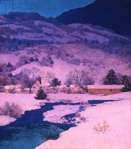 Christmas Eve, Deep Valley, 1946 (oil on panel)
