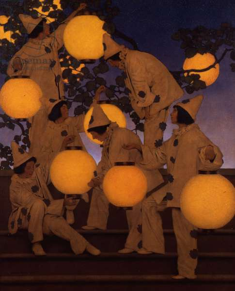 The Lantern Bearers, 1908 (oil on canvas)
