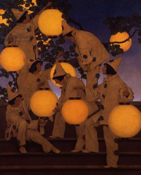 The Lantern Bearers, 1908 (oil on canvas)