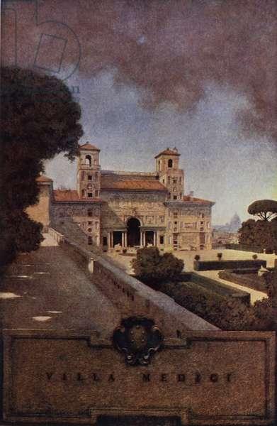 Villa Medici, Rome, 1903-04 (colour litho)