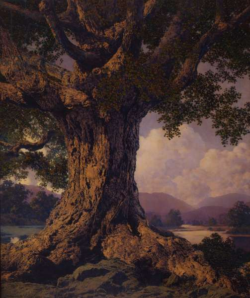 Ancient Tree, 1941 (oil on board)
