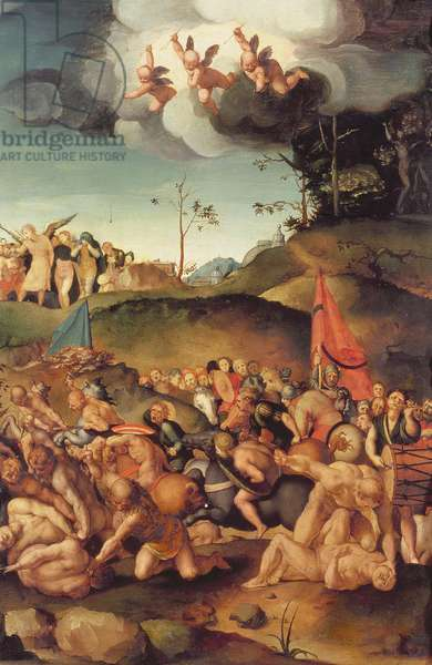 The Martyrdom of the Ten Thousand, 1529-30 (panel)