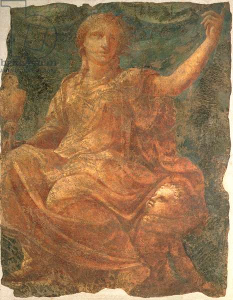 Allegorical figure of a Virtue (fresco)