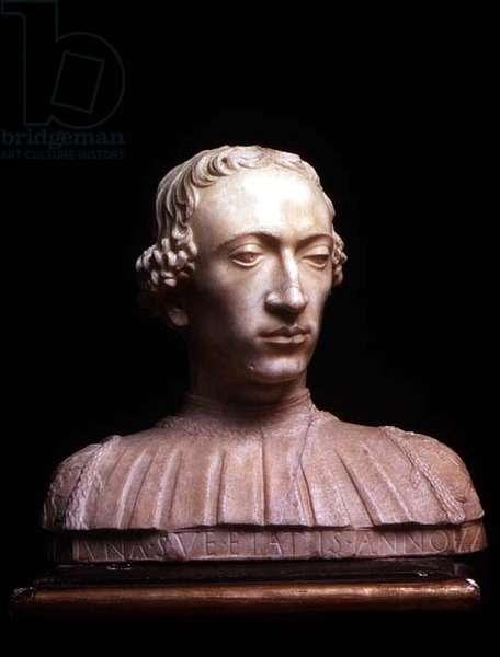 Rinaldo della Luna, bust by Mino da Fiesole (1429-84), 1477 (marble)
