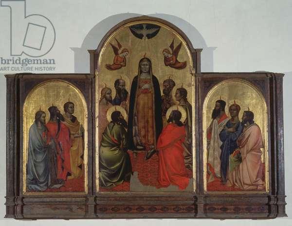 Pentecost (tempera on panel)