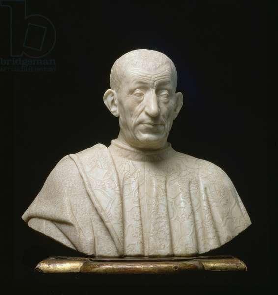 Pietro Mellini, bust by Benedetto da Maiano (1442-97), c.1474-76 (marble)