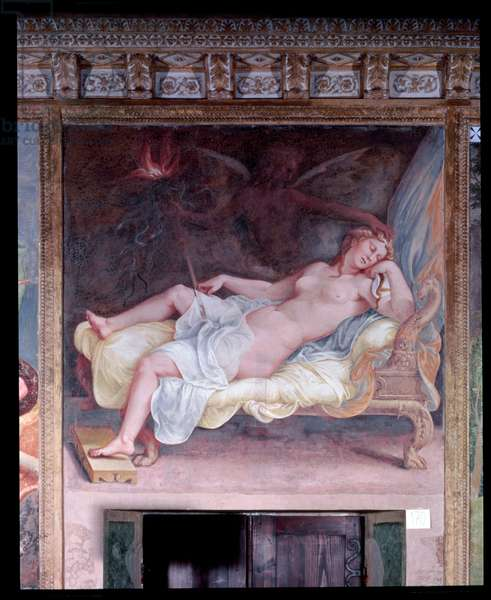 The Dream of Hecuba (fresco)