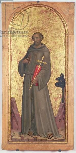 St. Francis (tempera on panel)