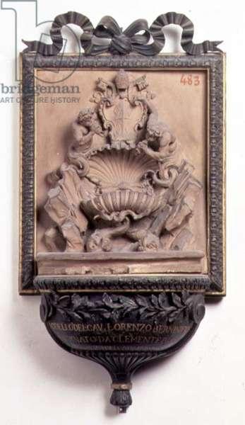 Modello for a fountain by Gian Lorenzo Bernini (1598-1680) (marble)