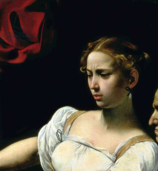 Judith and Holofernes, 1599`(oil on canvas) (detail of 507191)