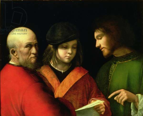 The Three Ages of Man, c.1500-01 (panel)