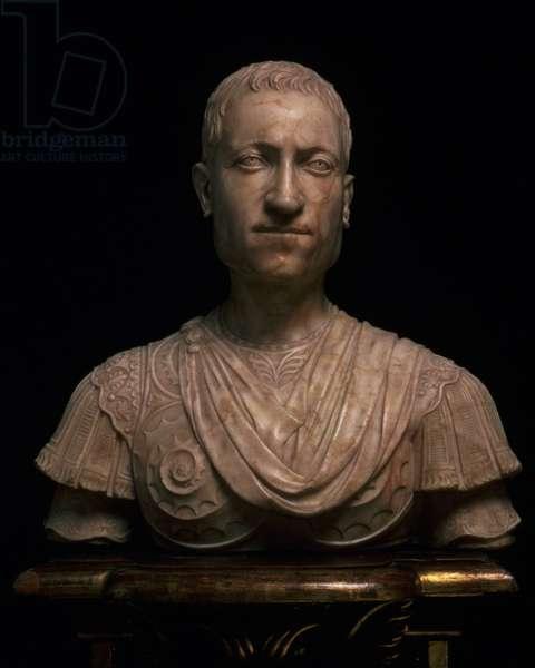 Giovanni di Cosimo de' Medici, bust by Mino da Fiesole (1429-84) (marble)