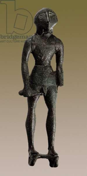Warrior, from the Sanctuario del Collado de los Jardines, Jaen (bronze)