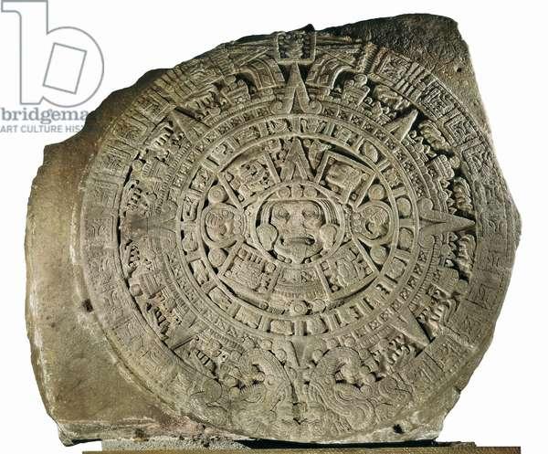 Aztec Calendar, 1479 (basalt)