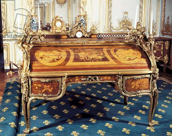 Louis XV style: The King's Office (photo)