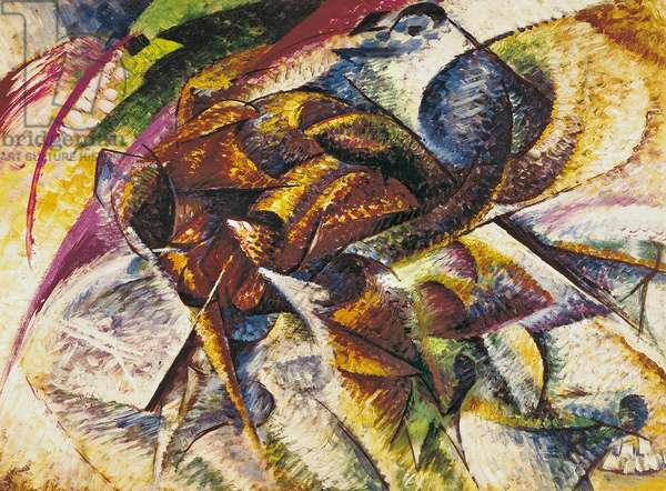 Dynamism of a Cyclist, 1913 (oil on canvas)
