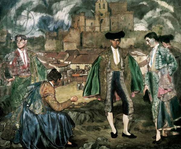 Young Bullfighters of Turegano, 1915 (oil on canvas)