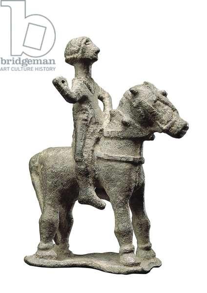 Rider, from the Sanctuario del Collado de los Jardines, Jaen, 6th-4th century BC (bronze)