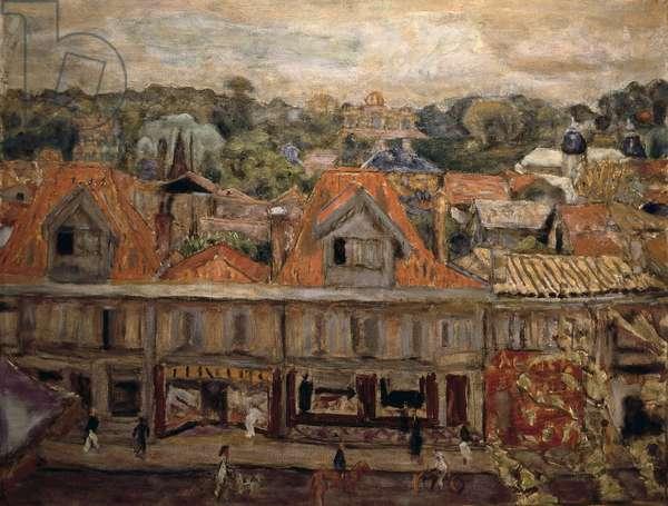 Street at Arcachon. 1930 (oil on canvas)