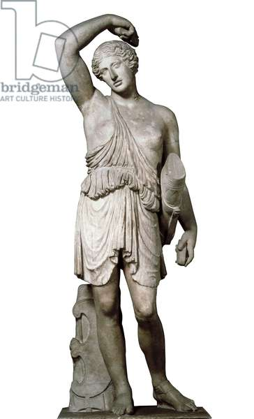 Wounded Amazon, Roman copy of a Greek original by Cresilas from c.450 BC (marble)