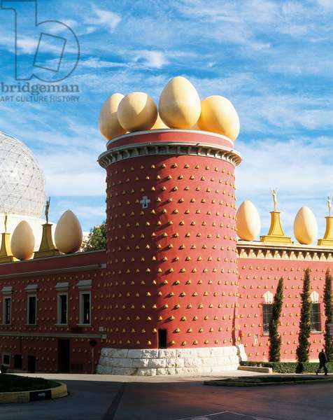The Galatea Tower, Figueres (photo)