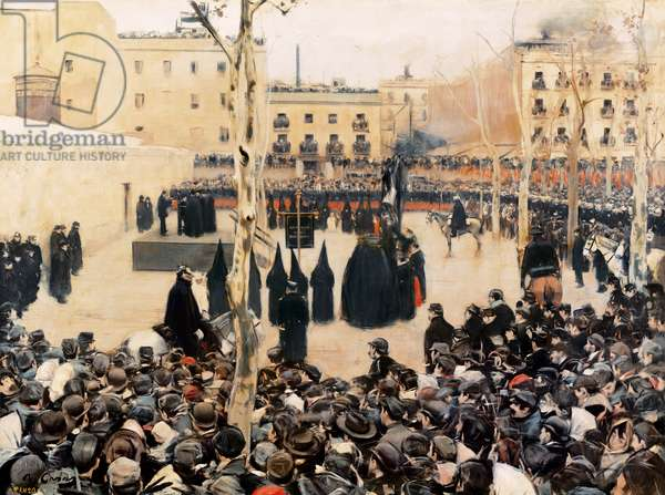 Garrote Vil, 1894 (oil on canvas)