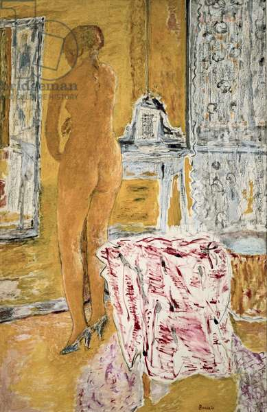 Large Yellow Nude, 1931 (oil on canvas)