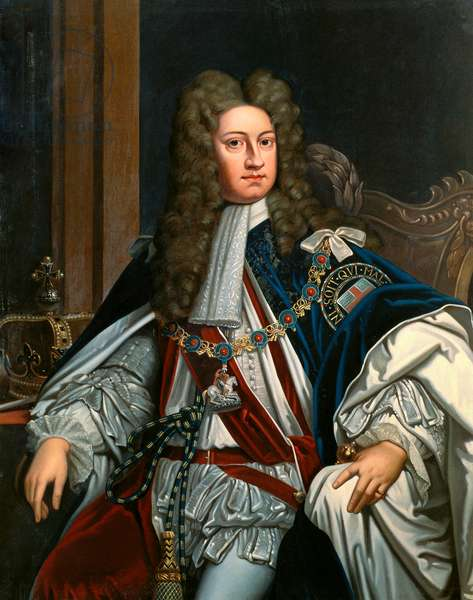 Portrait of King Charles I after the origina by Godfrey Kneller (oil on canvas)
