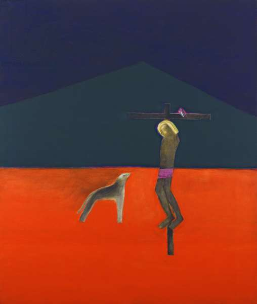 Crucifixion, 1984-86 (oil on canvas)