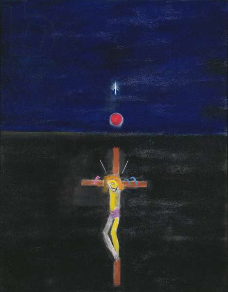 Crucifixion, 1999/2000 (oil on canvas)