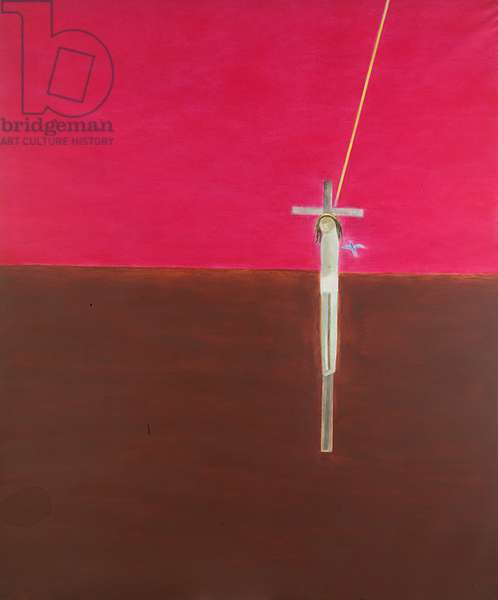 Crucifixion I, 1991 (oil on canvas)