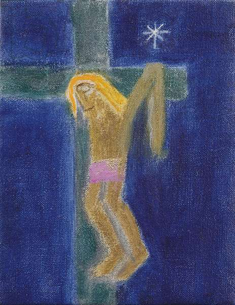 Crucifixion, 1998 (oil on canvas)