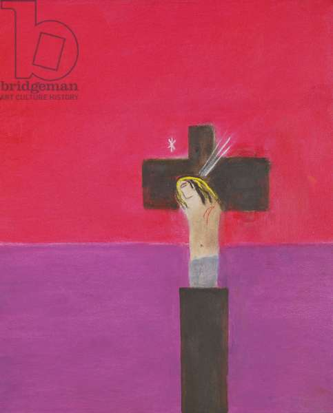 Crucifixion, c.1997 (oil on canvas)