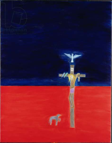 Crucifixion, 1999-2000 (oil on canvas)