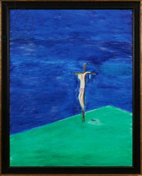 Crucifixion, June 2009 (oil on canvas)