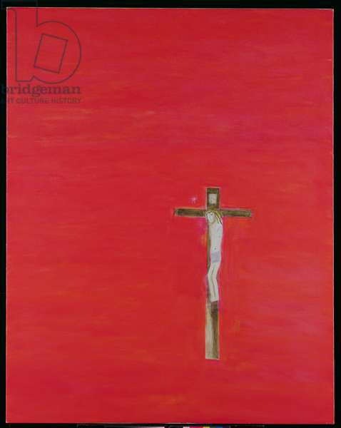 Crucifixion Montecastelli, 2001 (oil on canvas)