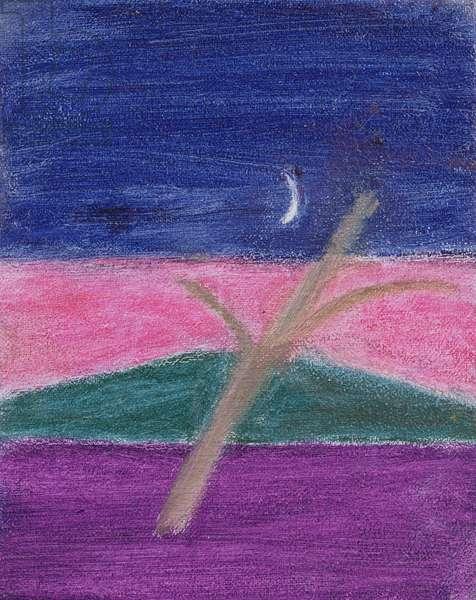 Landscape I, 1998 (oil on canvas)